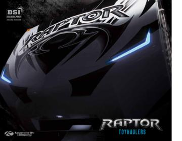 2013 Keystone Rv Raptor Brochure