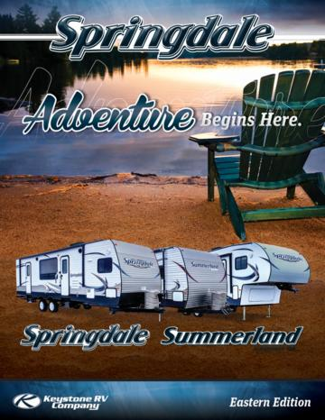 2013 Keystone Rv Springdale Eastern Edition Brochure