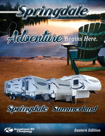 2013 Keystone Rv Summerland Brochure