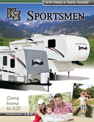2013 KZ RV Sportsmen Brochure