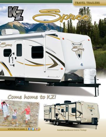 2013 KZ RV Spree Brochure