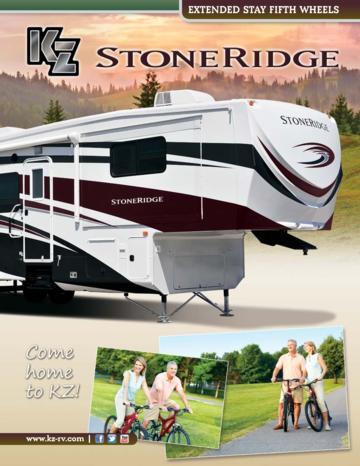 2013 KZ RV Stoneridge Brochure