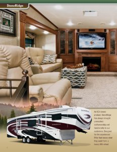 2013 KZ RV Stoneridge Brochure page 2