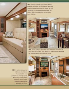 2013 KZ RV Stoneridge Brochure page 3
