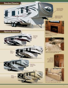 2013 KZ RV Stoneridge Brochure page 5