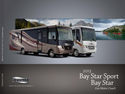 2013 Newmar Bay Star Brochure page 1