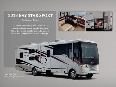 2013 Newmar Bay Star Brochure page 2
