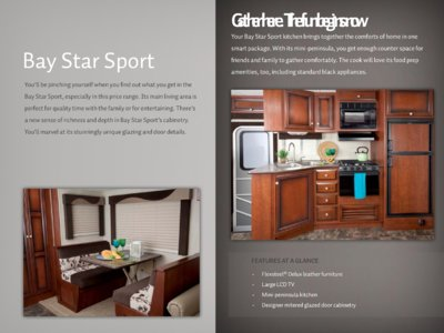 2013 Newmar Bay Star Brochure page 4