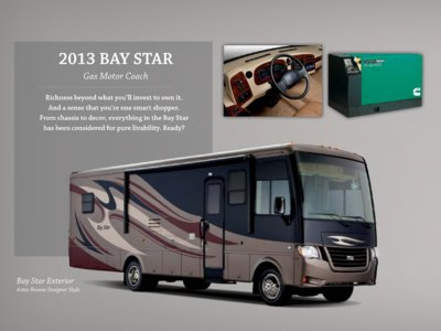 2013 Newmar Bay Star Brochure page 10