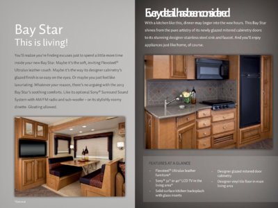2013 Newmar Bay Star Brochure page 12
