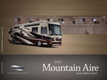 2013 Newmar Mountain Aire Brochure