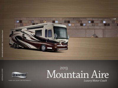 2013 Newmar Mountain Aire Brochure page 1