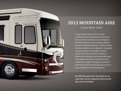 2013 Newmar Mountain Aire Brochure page 3