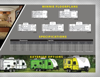 2013 Winnebago Minnie Brochure page 3