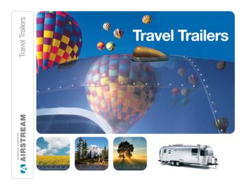 2014 Airstream Travel Trailers Brochure