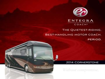 2014 Entegra Coach Cornerstone Brochure