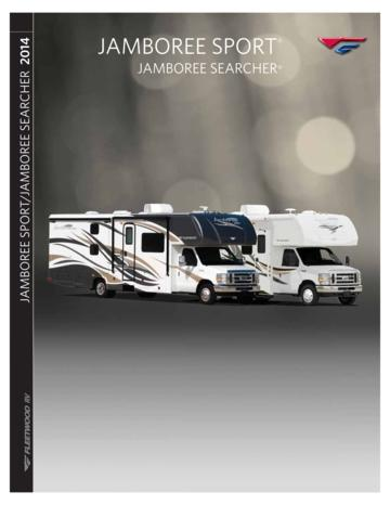 2014 Fleetwood Amboree Searcher Brochure