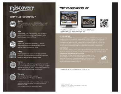 2014 Fleetwood Discovery Brochure page 8