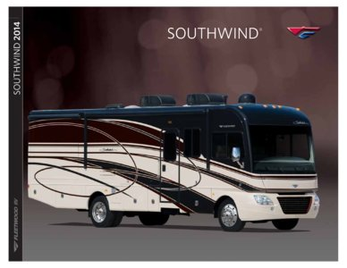 2014 Fleetwood Southwind Brochure page 1