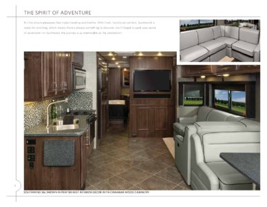 2014 Fleetwood Southwind Brochure page 2