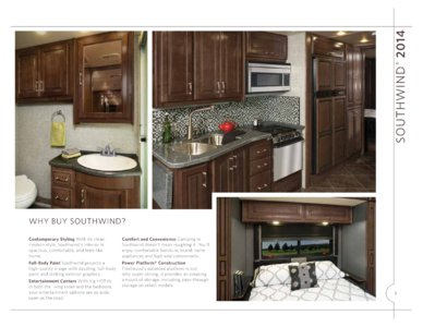 2014 Fleetwood Southwind Brochure page 3