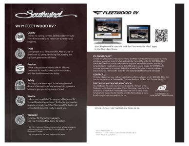 2014 Fleetwood Southwind Brochure page 8