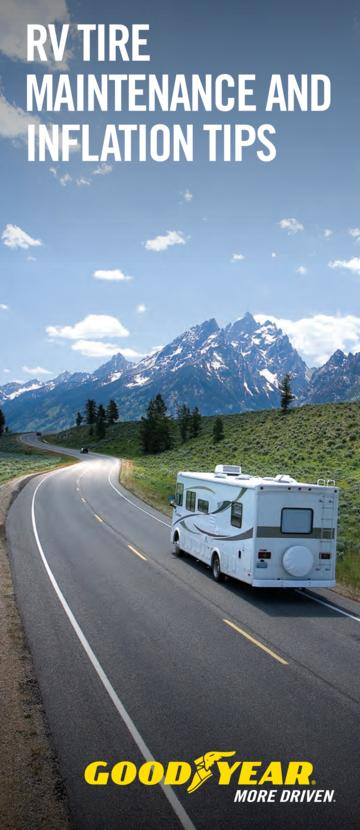 2014 Goodyear RV Tire Maintenance And Inflation Tips
