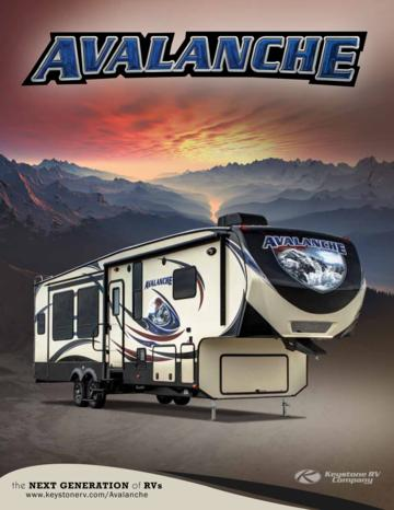 2014 Keystone Rv Avalanche Brochure
