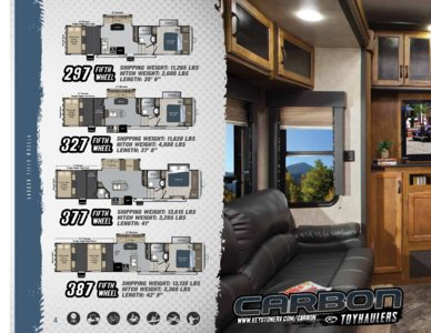 2014 Keystone Rv Carbon Brochure page 4