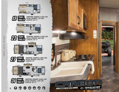 2014 Keystone Rv Carbon Brochure page 8