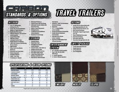 2014 Keystone Rv Carbon Brochure page 11