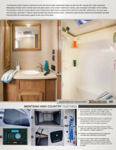 2014 Keystone Rv Montana High Country Brochure page 9