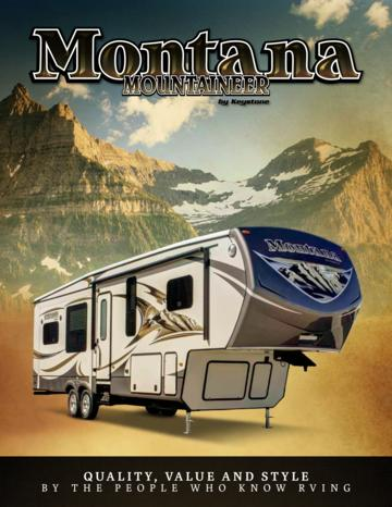 2014 Keystone Rv Mountaineer Brochure