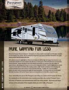 2014 Keystone Rv Passport Brochure page 2