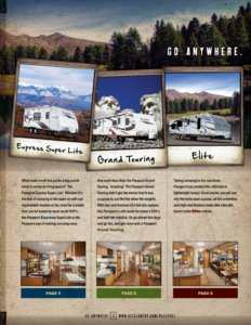 2014 Keystone Rv Passport Brochure page 3