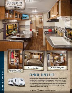2014 Keystone Rv Passport Brochure page 4