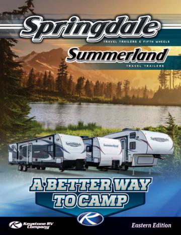 2014 Keystone Rv Summerland Brochure