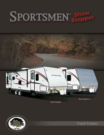 2014 KZ RV Sportsmen Show Stopper Brochure