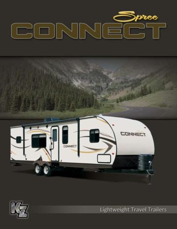 2014 KZ RV Spree Connect Brochure