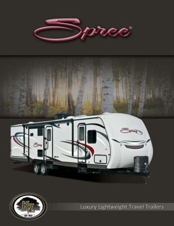2014 KZ RV Spree Brochure