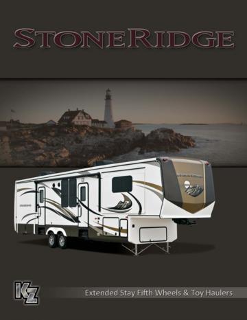 2014 KZ RV Stoneridge Brochure