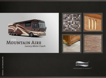 2014 Newmar Mountain Aire Brochure