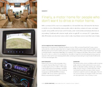 2014 Tiffin Allegro Breeze Brochure page 4