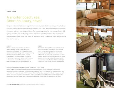2014 Tiffin Allegro Breeze Brochure page 9