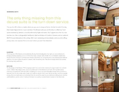 2014 Tiffin Allegro Breeze Brochure page 13