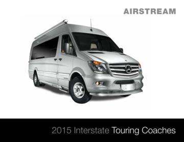 2015 Airstream Interstate 3500 Brochure