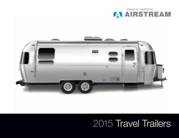 2015 Airstream Travel Trailers Brochure