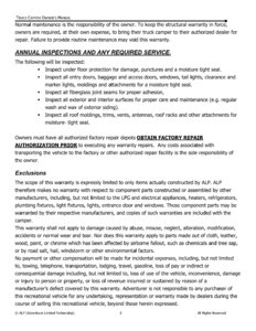 2015 ALP Truck Campers Owner's Manual page 7
