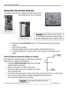 2015 ALP Truck Campers Owner's Manual page 25