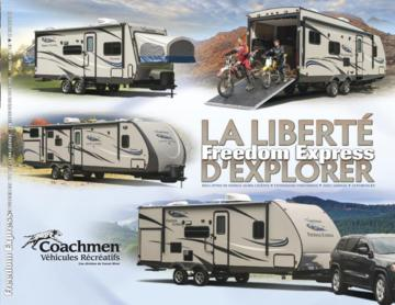2015 Coachmen Freedom Express French Brochure